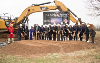 Gateway Center Ground Breaking
