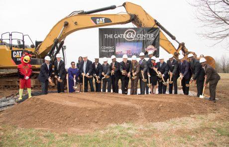 Gateway Center Ground Breaking