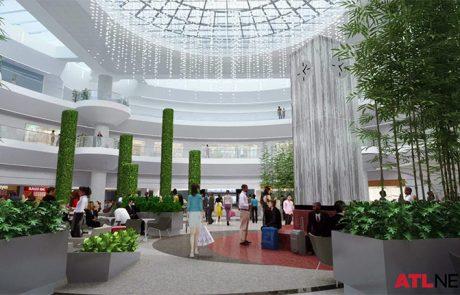 Airport City - Airport Atrium