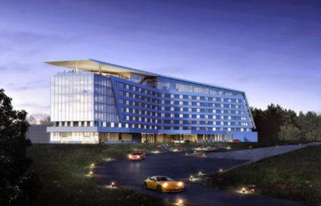 Solis Hotel - Night Rendering