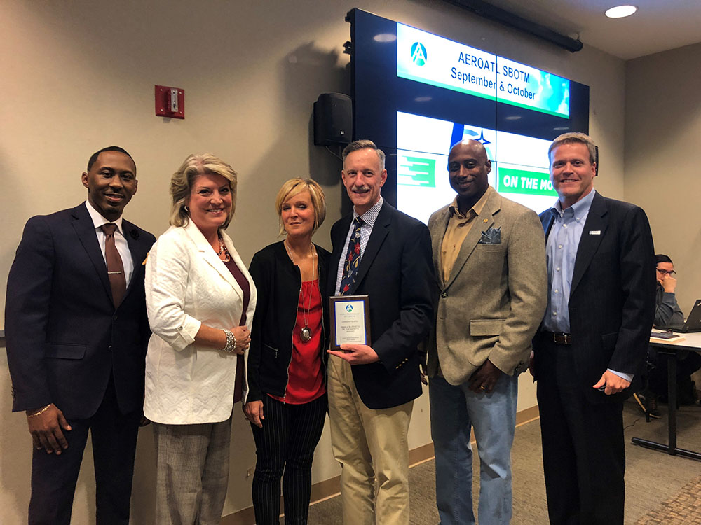 Aerotropolis Atlanta Alliance, Clayton County Chamber of Commerce Recognize Manufacturer as Small Business of the Month