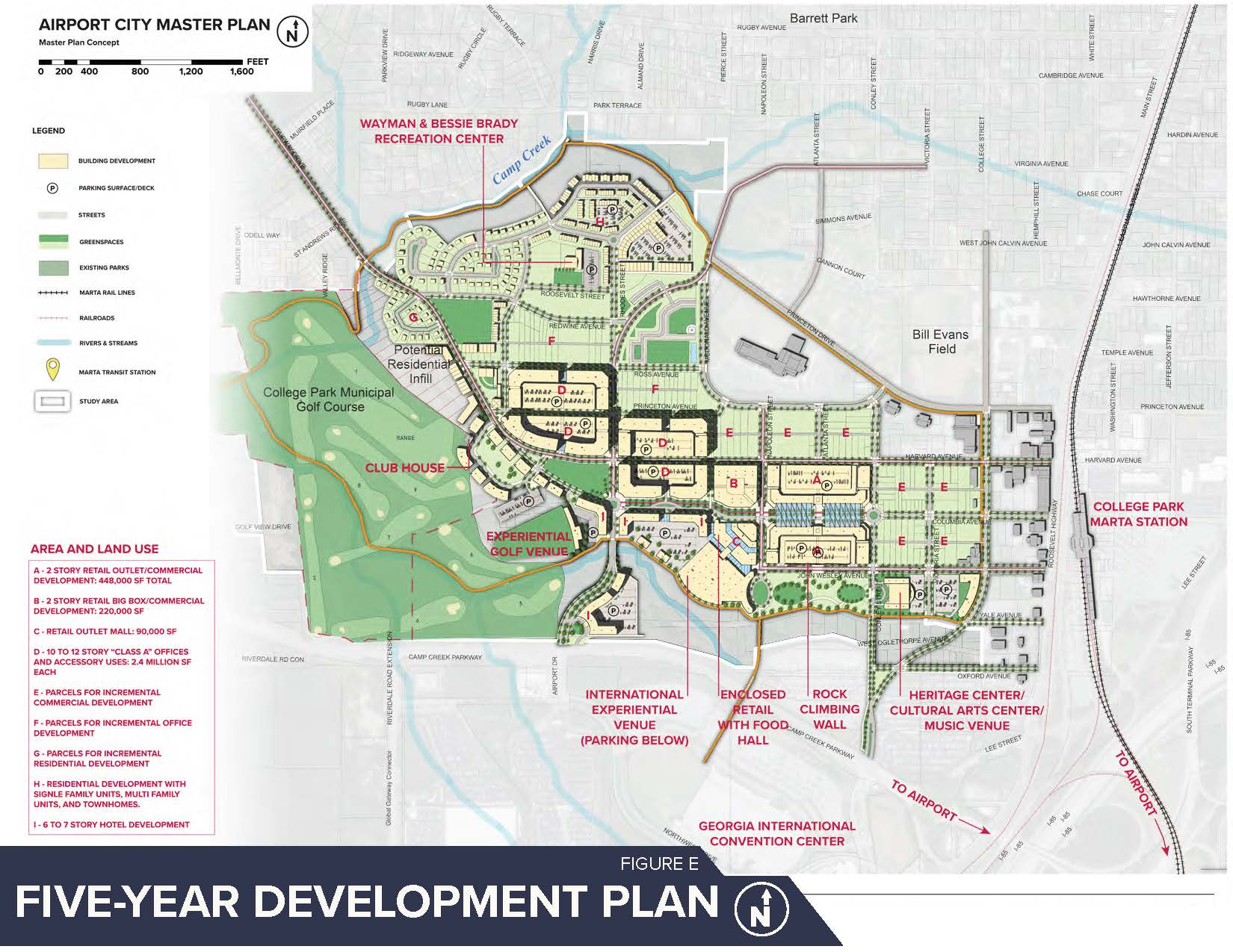 Airport City College Park Master Plan